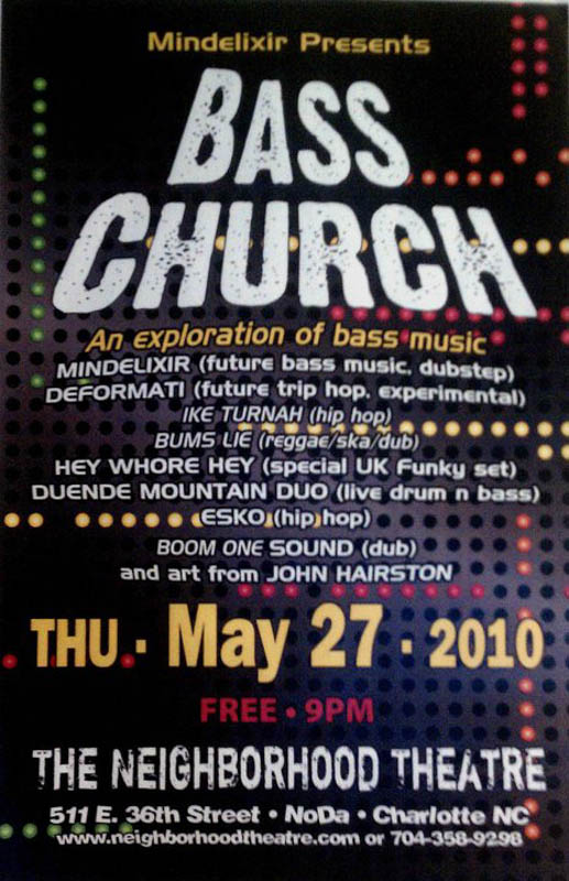 Mindelixir Presents Bass Church 01