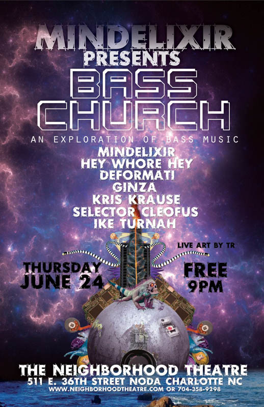 Mindelixir Presents Bass Church 02