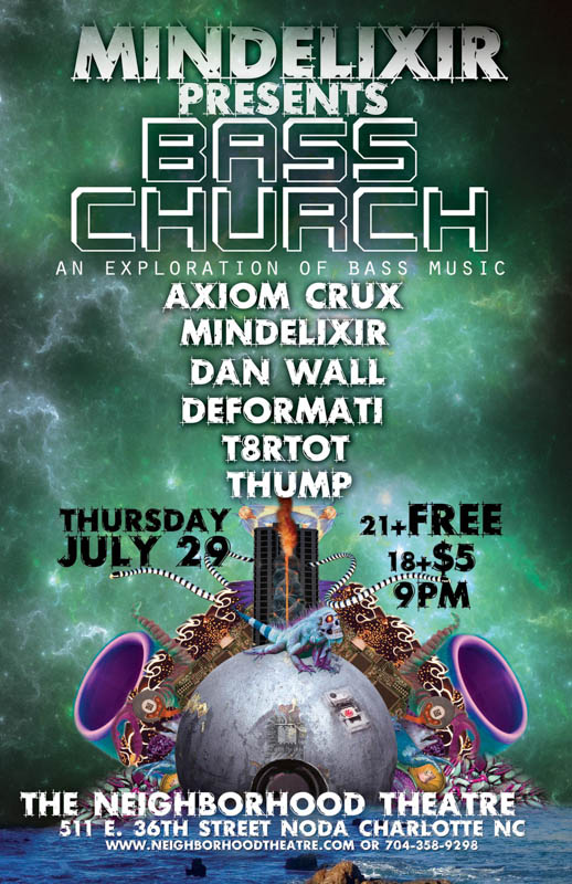 Mindelixir Presents Bass Church 03