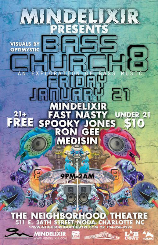 Mindelixir Presents Bass Church 08