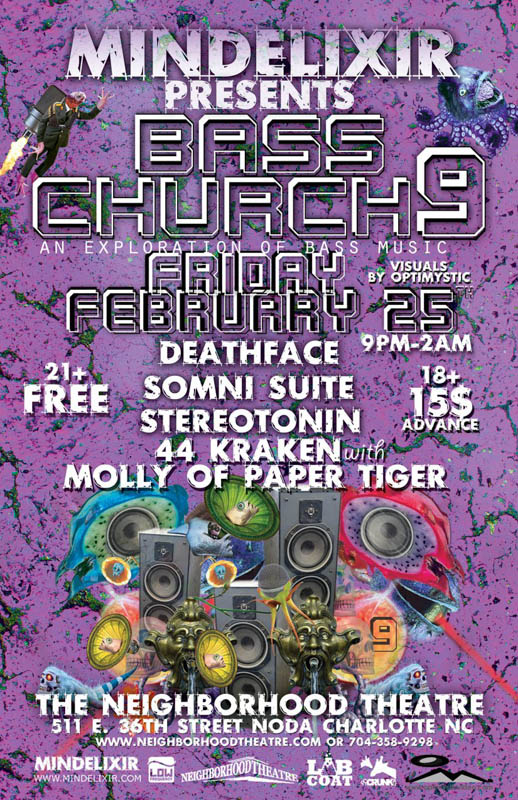 Mindelixir Presents Bass Church 09