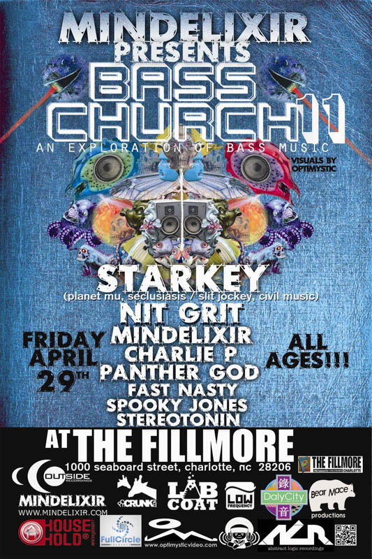 Mindelixir Presents Bass Church 11