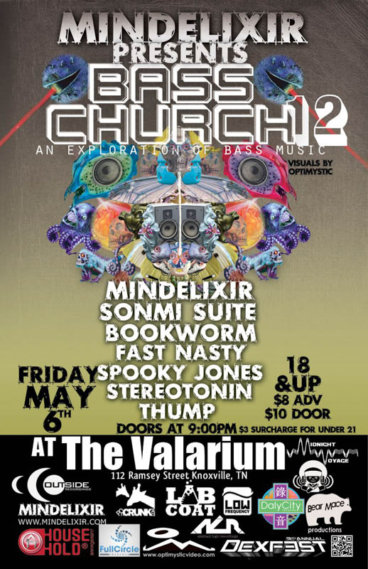 Mindelixir Presents Bass Church 12