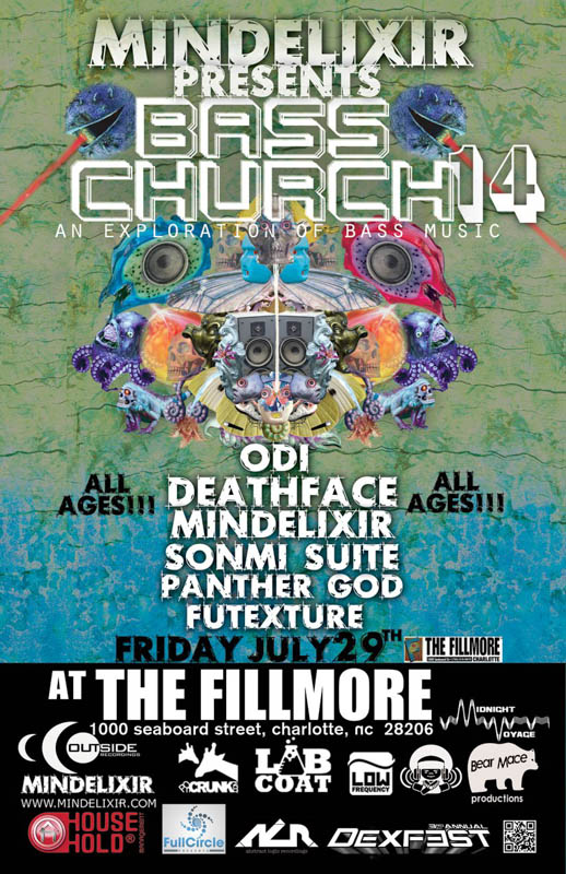 Mindelixir Presents Bass Church 14