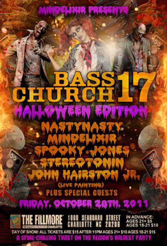 Mindelixir Presents Bass Church 17