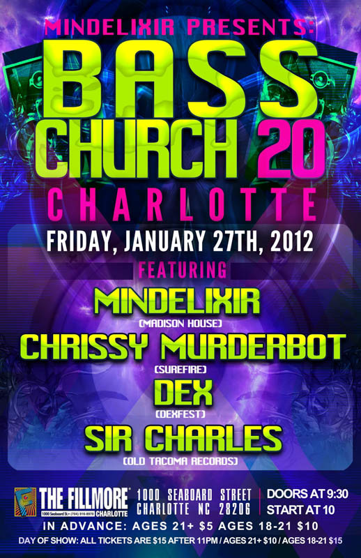 Mindelixir Presents Bass Church 20