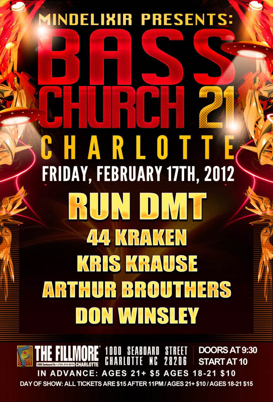 Mindelixir Presents Bass Church 21