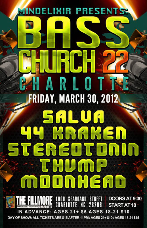 Mindelixir Presents Bass Church 22